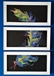 Картина/триптих/ живопис/ абстракція Fluid Art #63 acrylic, фото №10
