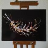 Картина/ живопис/ абстракція Fluid Art #64 acrylic, фото №3