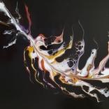 Картина/ живопис/ абстракція Fluid Art #64 acrylic, фото №13