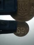 25 коп 1992 итальянский чекан поворот 180* аверса относительно реверса, фото №2