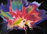 Картина/ живопис/ абстракція Fluid Art #65 acrylic, фото №7