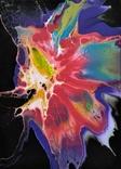 Картина/ живопис/ абстракція Fluid Art #65 acrylic, фото №8