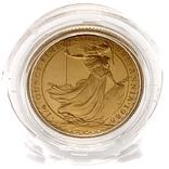 25 фунтов. 1988. Стоящая Британия. Елизавета II (золото 917, 1/4 унции), фото №13