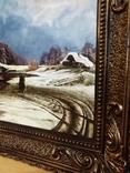 Оттепель Копия в раме, фото №4