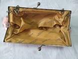 Нарядная сумочка клатч расшитая бисеоом, пайетками. Charlotte Reid. Англия. 25х11см, фото №10