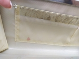 Клатч бледно-мятного цвета. на каркасной основе. 27х14см, фото №11