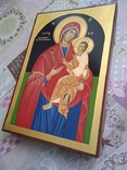Икона писанная ручной работы, фото №4