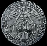 Талер 1639 року, короля Владислава IV Ваза, срібло, фото №3