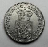 Германия. Бавария 6 крейцеров 1866 год, фото №3