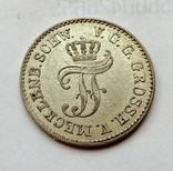 Германия Мекленбург-Шверин 1/48 талера 1852 год, фото №3