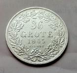 Германия Бремен 36 грот 1845 год, фото №2