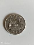 6 пенсов 1950 год. Австралия. серебро., фото №4