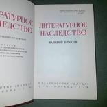 Валерий Брюсов. Литературное наследство, фото №7