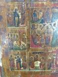 Икона Житие Пр.Б-цы Рождество Иисуса Христа, фото №7