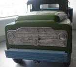 Игрушка машинка большая железная Уралец цена 3 рубля, фото №2