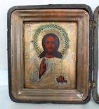 Икона Господь вседержитель (25см х 30см) под реставрацию, фото №2