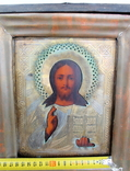 Икона Господь вседержитель (25см х 30см) под реставрацию, фото №6