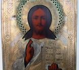 Икона Господь вседержитель (25см х 30см) под реставрацию, фото №9