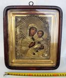Икона ''Богородица Иверская (или Тихвинская)'', фото №3