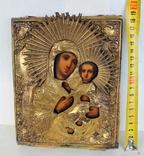 Икона ''Богородица Иверская (или Тихвинская)'', фото №5