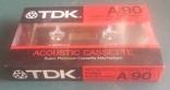 Винтаж. аудиокассета TDK A-90/ Япония., фото №3