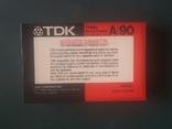 Винтаж. аудиокассета TDK A-90/ Япония., фото №7