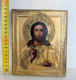 """Икона """"Господь Вседержитель"""" (22см х 25см) - под реставрацию, фото №5"""