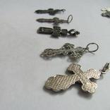 Кресты 925 пробы 5 штук, фото №5