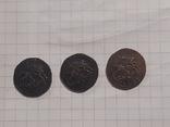 З монеты полушки 1759, 1795 (копии), фото №7