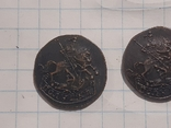 З монеты полушки 1759, 1795 (копии), фото №8