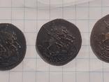 З монеты полушки 1759, 1795 (копии), фото №9