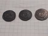 З монеты полушки 1759, 1795 (копии), фото №11