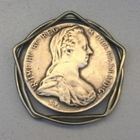 Талер Мари Терезы 1780 год. Держатель для денег., фото №2