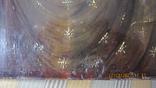 Большая икона 43 x 33,5см Бог Отец и Святой Дух, фото №9