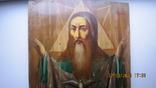 Большая икона 43 x 33,5см Бог Отец и Святой Дух, фото №10