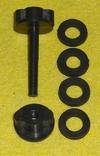 Болт для М.Д. 6мм + 4 Уплотнительные резинки, фото №3