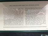 5 долларов Острова Кука 1976 в конверте с маркой первого дня гашения, фото №4