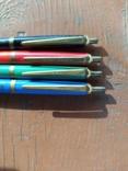 4 шариковые ручки SCHAH времен СССР., фото №3