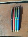 4 шариковые ручки SCHAH времен СССР., фото №4