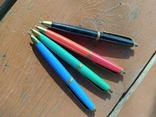 4 шариковые ручки SCHAH времен СССР., фото №2