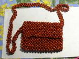 Сумка клатч семена растения, фото №4