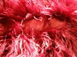Сумка клатч натуральное перо, фото №8