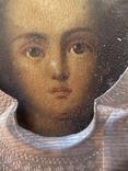 Икона Смоленской Божьей Матери. Серебро 84 начало XX века, фото №12