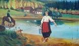 Картина, художник Мотиль Й. Копия., фото №5