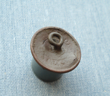 Пуговица с накладным орлом, позолота, фото №9