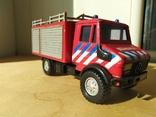 Unimog 437.1 пожарная 1:50 Hongwell Cararama, фото №3