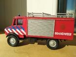 Unimog 437.1 пожарная 1:50 Hongwell Cararama, фото №4