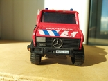Unimog 437.1 пожарная 1:50 Hongwell Cararama, фото №6
