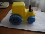 Детский пластмассовый трактор СССР., фото №2