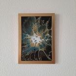 Картина/ живопис/ абстракція Fluid Art #67 acrylic, фото №11